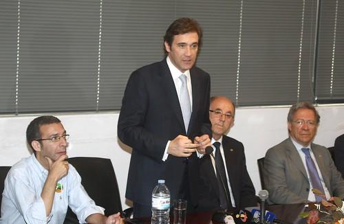Pedro Passos Coelho visita  o Cadaval