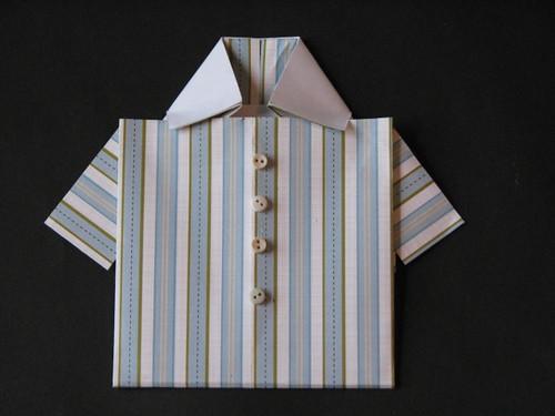 Origami Shirt Card - Extras 001