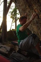 Rob på projekt i Omsberget