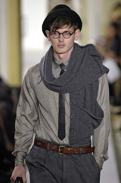 メガネ男子 James Neate301_FW07-08 London Marc by Marc Jacobs(mh)