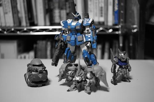 NEX-5ピクチャーエフェクト:パートカラー(ブルー)
