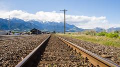 460 - Chemin de fer et Kaikoura Ranges