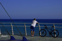 Sea (jlmm_morales) Tags: bicicleta paseo marítimo mar costa descanso españa andalucía nikon d5100 málaga torrox bicycle walk maritime sea coast break spain andalusia