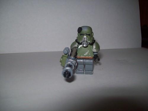Lego fallout power armor custom minifig