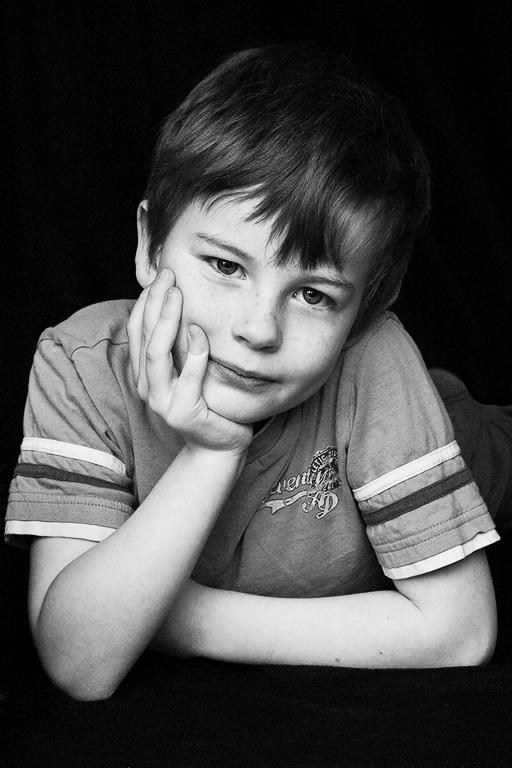 portrait of my eldest