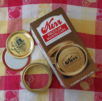 2 part canning lids