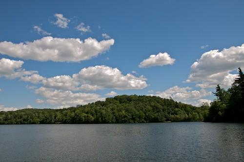 Lac du Moulin on Mont Saint-Bruno