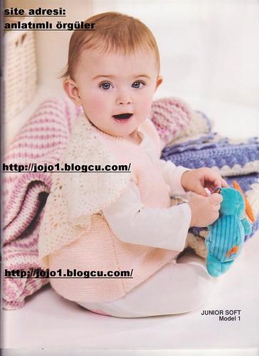 3702807788 a909466957 şallı bebek yeleği anlatımı