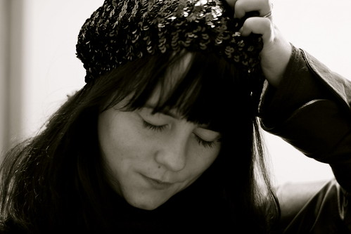 Sequin Beret = LOVE