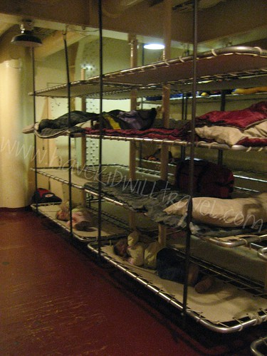 Bunks of the USS Massachusetts, Battleship Cove, Fall River, MA