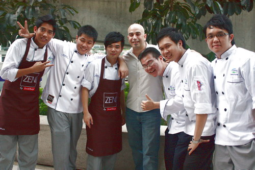 Zen Star Chefs & Judge Laurent Lherisson