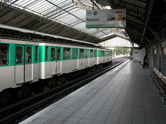 Metro train (CruisAir) Tags: paris france station train europe metro ratp metrostation dupleix metrodupleix metrotrain cruisair