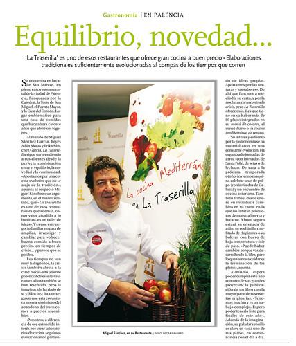 Entrevista en Diario Palentino