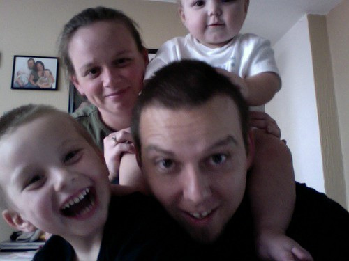 Playing with Photobooth and the whole family