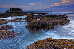 Our heart  is called to the sea (tropicaLiving - Jessy Eykendorp) Tags: longexposure light sunset sea sky bali seascape seaweed beach nature water silhouette clouds indonesia landscape coast rocks shoreline tanahlot efs1022mmf3545usm outdoorphotography canoneos50d tropicaliving hitechfilters rawproccessedwithdigitalphotopro tiffproccessedwith