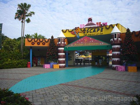 My Images Of Singapore: Escape Theme Park