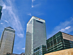 HSBC World Headquarters at 8 Canada Square in ...