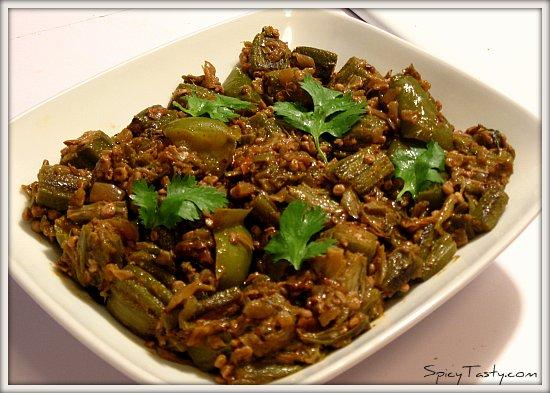 Bhindi masala1