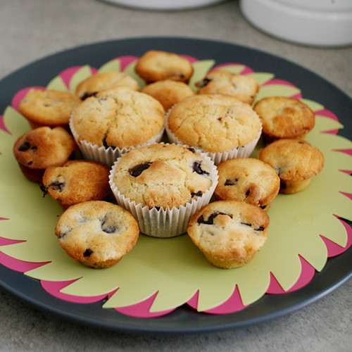 gluten free choc berry muffins