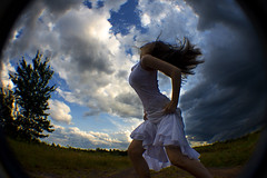 Wind-Tossed (Leah Johnston) Tags: portrait woman selfportrait tree nature girl female clouds self hair wind leah fineart johnson windy portfolio johnston whitedress selfportraitartist leahjohnson leahjohnston leahjohnstonphotography leahjohnsonphotography leahjohnstonphotos
