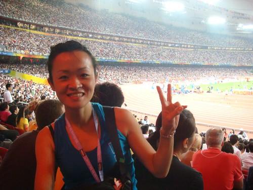 你拍攝的 美琪穿著彩虹去北京看奧運5。