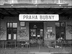 Praha/Prague/Prag-Bubny, nadrazi Bubny-Vanoce 2008 (vratsab) Tags: old railroad station night europe czech prague nacht bahnhof prag praha graffitti bohemia vltava centraleurope moldau nadrazi cesko nocni bubny