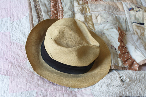 smushed hat