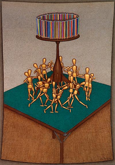 John Brack_The Celebration_1991_400w