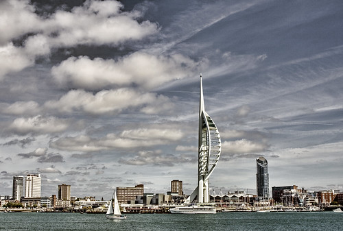 Portsmouth Skyline, Topaz Adjust