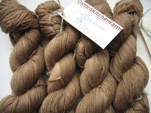 Oxford Kitchen Yarns Sock Weight: Brass