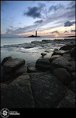 A Moment Of Clarity (f22 Digital Imaging) Tags: ocean uk sea england lighthouse water sunrise canon newcastle landscape coast sigma whitleybay stmaryslighthouse stmarysisland cotcpersonalfavorite britishseascapes f22digitalimaging empadminfaveofthemonthsep09