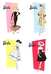 vintage-style Barbie notecards (dolls*dolls*dolls) Tags: cards barbie card stationery mattel notecard notecards graphiquedefrance