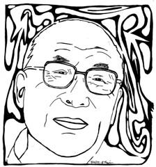 maze of wise man dalai lama