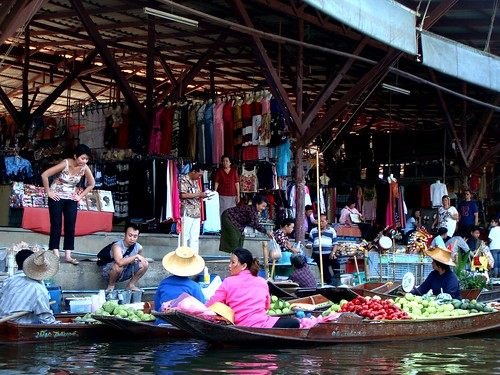 Trade along the canal