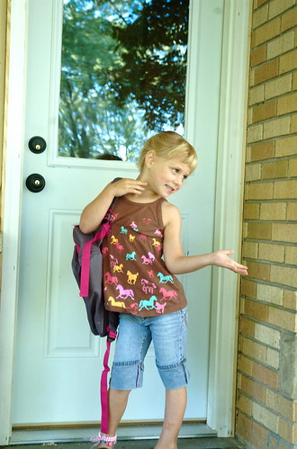 First day of school, too cool.