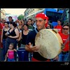 People -  Messina No Ponte, August 8 - Tarantella (Osvaldo_Zoom) Tags: street bridge red people music kid nikon rally protest player sicily messina والله noponte لك messinastrait d80 والروح اشتاق