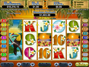 free Triple Toucan slot bonus game