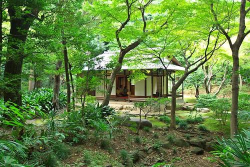 Tea house Kyu Fukuhara garden