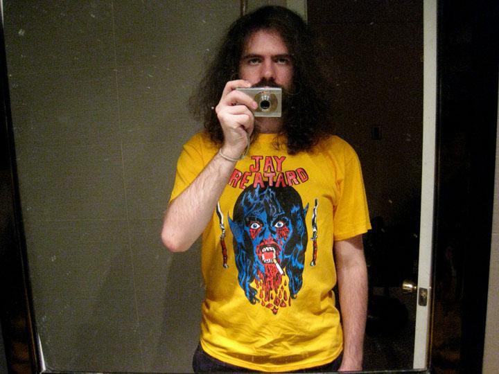 2009/10/02 Jay Reatard Shirt