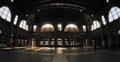 golden lights @ mainstation zurich (Toni_V) Tags: station backlight schweiz switzerland suisse zurich bahnhof sbb fisheye hauptbahnhof zürich 2009 mainstation gegenlicht d300 091003 10528 toniv dsc3402