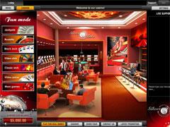 Silver Bets Casino Lobby