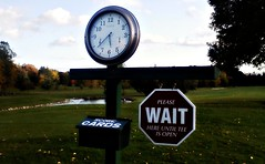 Eagle Vale Golf Course (blmiers2) Tags: autumn newyork fall clock golf geotagged other golfcourse wait cellphonepic scorecards eaglevale eaglevalegolfcourse blm18 blmiers2