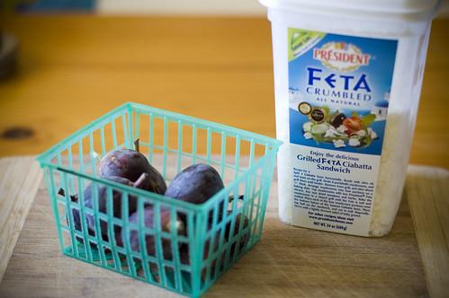 vols-au-vent - figs n feta