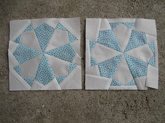two attempts at this block!
