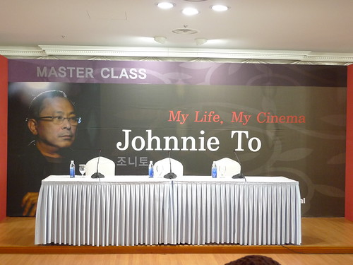 Waiting for Johnnie To's Master Class