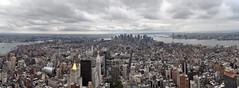 EmpireDowtownPano (JustinMHawks) Tags: new city newyorkcity empirestatebuilding newyorkpanorama