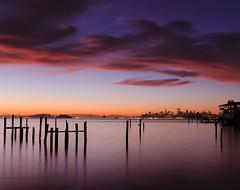 Good Morning (kaoni701) Tags: sf sanfrancisco morning light sea sky water fog skyline night clouds sunrise dawn bay gg nikon marin goldengate nd baybridge bayarea headlands 1750