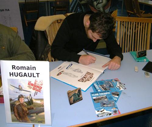 ROMAIN HUGAULT / 5ème FESTIVAL BD DE L'AIR / LE BOURGET