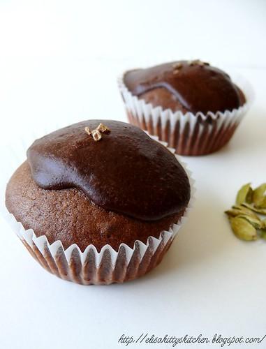 Muffin triplo cioccolato e cardamomo2
