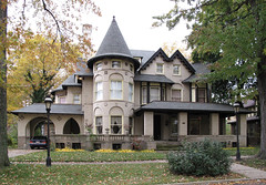 1089 Iroquois St, Indian Village (southofbloor) Tags: city house building architecture louis village indian detroit motor mansion iroquois motown kamper